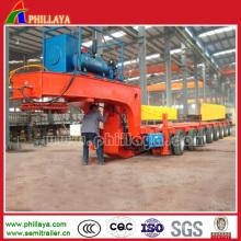 Remorque modulaire hydraulique résistante de 100-500ton