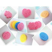 2014 China Pulp Wood and Cotton Makeup Remover Sponge