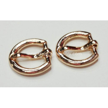 12mm Gold Polish Metal Pin Buckle