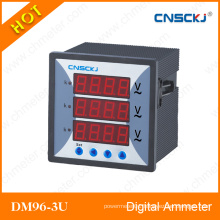 Dm96-3u Digital Display Three Phase Voltmeter