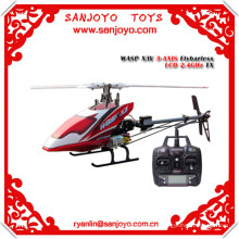 ready to fly rc airplane WASP X3V 3-AXIS flybarless LCD 2.4GHz RTF(HWX3V-03) mini rc helicopter