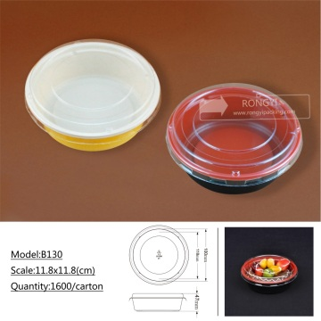 BOPP plasctic disposable cookie cake box tray