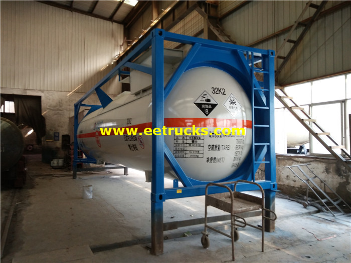30000L ISO HCl Tank Containers