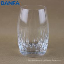 Gobelet en verre gravé de 9 oz / 270 ml