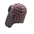 winter trapper hat with ear flaps