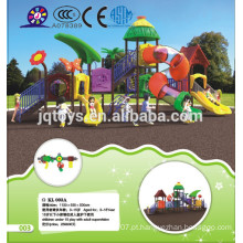 KL 003A Popular Kids Outdoor Plástico Playground Equipamentos Forest Tree House Outdoor miúdos playground equipamentos