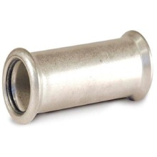 108*108 En 316L Pipe Fittings Sleeve Coupling Press