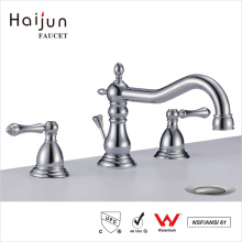 Haijun 2017 Cheap Contemporary Bathroom Thermostatic Brass Basin Faucets