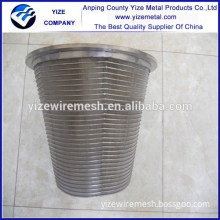 alibaba china manufacturer wedge v wire well screen/Wedge Screen Filter Stainless Steel Cylinder Wire Mesh