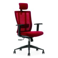 cadeira ergonómica traseira alta malha