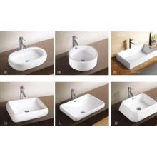 Lavabo / lavabo de arte más vendido (w7151)
