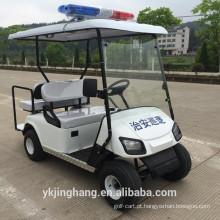 Carrinho de golfe da polícia de 2 + 2 assentos