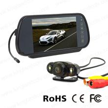 Зеркальный ЖК-дисплей 7 дюймов с видео камерой