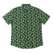 Модные мужские повседневные рубашки с принтом из хлопка 2020 г.