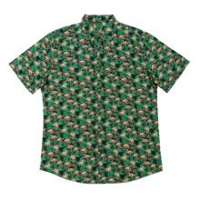 Chemises imprimées en coton décontractées pour hommes à la mode 2020