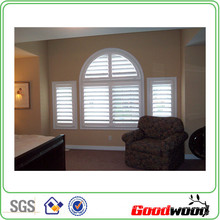 89mm Solid Wooden Plantations Shutters (SGD-S-6446)