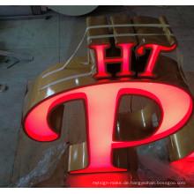 Gebäude-Einzelhandelsgeschäft belichtete 3D Acrylplastikbuchstaben