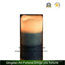 3 capas de vela perfumada de la cera del LED para la venta al por mayor