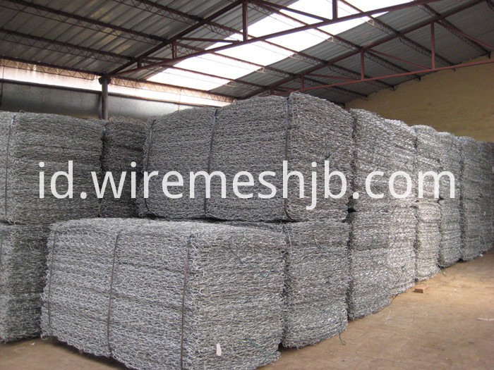 Hexagonal Gabion Mattress