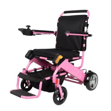 Para la silla de la silla de ruedas del recorrido Silla de ruedas plegable de los ancianos