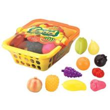 Jouets de simulation éducatifs fruits fruits panier en plastique (10230997)
