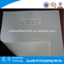 High quality polypropylene napped filter cloth for water treatment