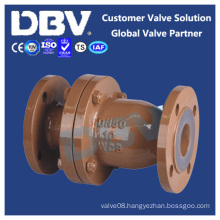 Wcb Fluorine Lined Flanged Swing Check Valves
