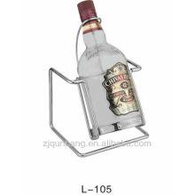 Estante colgante de cristal de vino