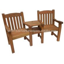 Meranti Outdoor / Gartenmöbel Set - Denver Love Seat