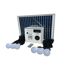 30W Solar Home Green power sistema di illuminazione