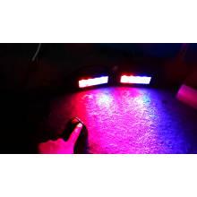 8W Policed coche estroboscópico usado intermitente señal de advertencia de emergencia impermeable IP67 12V LED Advisor barra de luz