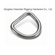 Ss316 D Type Ring, Marine Hardware, Base Cleat, Pad Eye, Ss316, Carbon Steel Eye Plate