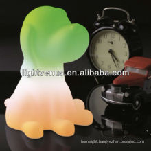 OEM night light BSCI certified manufactuer Direct Sales Dog Shape Table night lamp