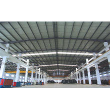 Estructura de acero del marco de acero ligero ambiental para el edificio del taller