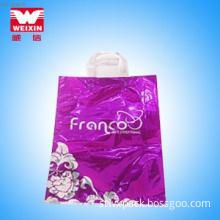 Manufacturer! Newest design portable plastic shopping bag