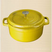 7.2L Enamel Cast Iron Dutch Oven Size Dia 28cm