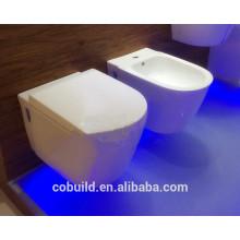"""Buraco de drenagem de 4 """"WC Armário de vaso sanitário de cerâmica Siphonic de uma peça de WC"""
