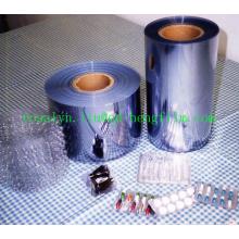 Película rígida farmacéutica de PVC transparente para el envasado de ampollas de pastillas. Tabletas, Cápsula