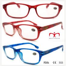 Пластиковые очки для чтения с цветным рисунком (WRP508336)