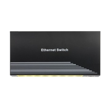 Snabb Omanaged POE Ethernet-switch med 8 portar