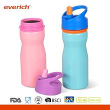 New Arrive Single Wall Sport Bottles With Straw Lid