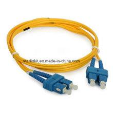 Fibra Patch Cord Single Mode 9 / 125um Sc para Sc