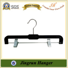 Clothes Hanger manufacture Simple Plastic Top Hanger for Pants