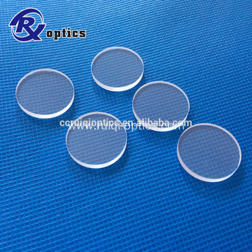 25.4mm Round Optical Glass Sapphire Windows
