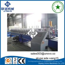 Unovo proveedor de maquinaria acero ZC purlin rolling machine