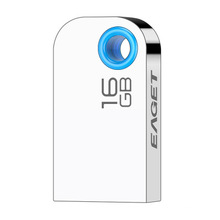 Mini memoria USB de metal plateada de 8 GB a 128 GB