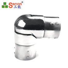 Adjustable Pipe Fitting Flexible Elbow Stainless Steel Flush Angle Joiner