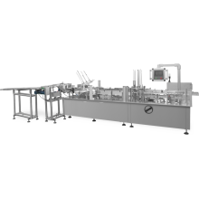 8 channel single line mask cartoning machine