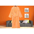 Enkelfärgad Robe Terry Cloth Robe Spa Robes