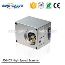 Hochgeschwindigkeits-JD1403 9mm Öffnungs-Strahl CO2 Galvo für Faser-Laser-Markierungs-Maschine